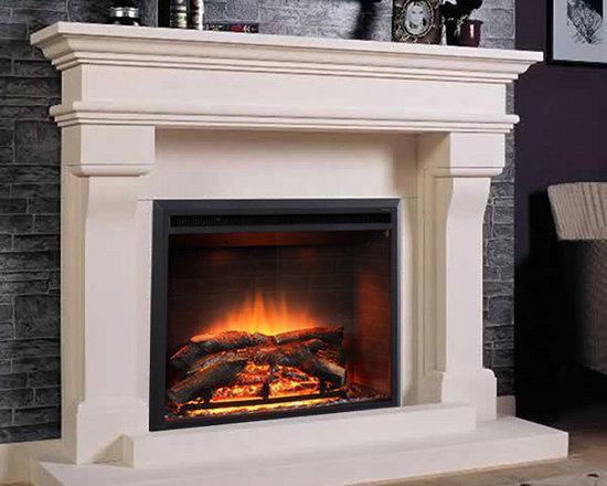 Marble Fireplace Mantels - Lyon -