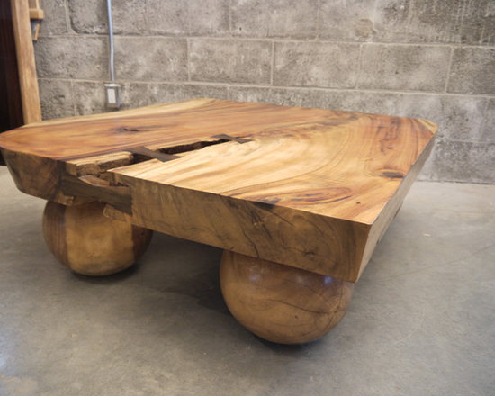 Live edge Suar coffee table - Charles St-Louis