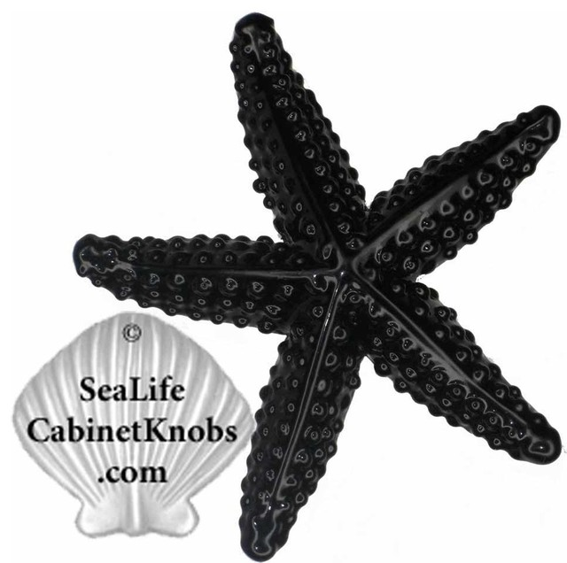 Starfish Drawer Pulls - Beach Style - orlando - by Sea Life Cabinet Knobs by Peter Costello