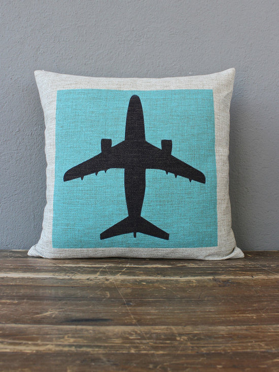 airplane pillow - please e-mail us at info@redinfred.com for more information + purchasing availability