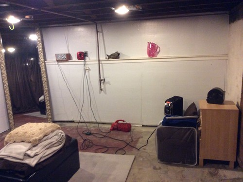 Need to turn basement space into bedroom - How to make a basement into a bedroom ...