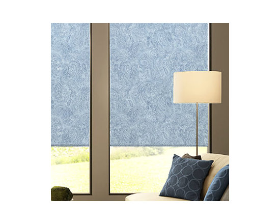"""Blindsgalore - Blindsgalore Expressions Roller Shades: Traditional Patterns - These time-tested patterns have been updated for today's design trends and color palettes, blending beautifully with any decor.  Add additional texture with one of our upgrade fabric choices!  Our Expressions Roller Shades are printed """"on-demand"""" on your choice of two fabrics and are available in a wide array of colors, styles, patterns and designs."""