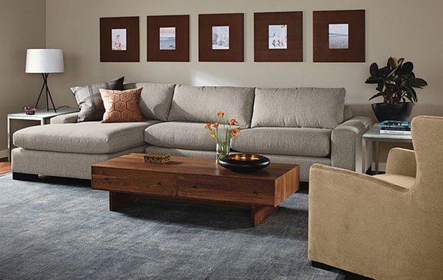 Townsend Sofa With Chaise Room By R Amp B Modern Living