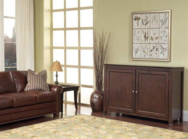 """Monterey TV Lift Cabinet For Flat Screen TV's Up To 55"""" contemporary-home-electronics"""