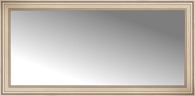 72 x 36 arqadia silver traditional custom framed mirror for Mirror 72x36