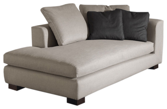 Minotti Matisse Modern Chaise Longue modern day beds and chaises