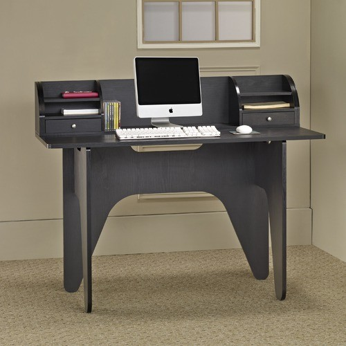 niko office computer desk with mini hutch modern desks and hutches
