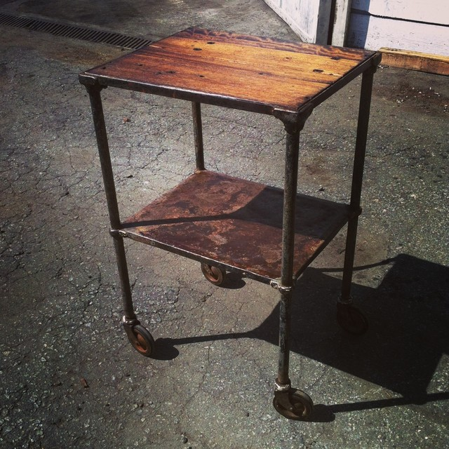 Gallery of projects we have made rustic-bar-carts
