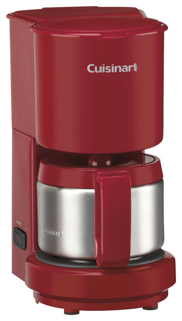 Cuisinart 4-Cup Coffeemaker with Stainless Steel Carafe. Red - Contemporary - Coffee And Tea ...