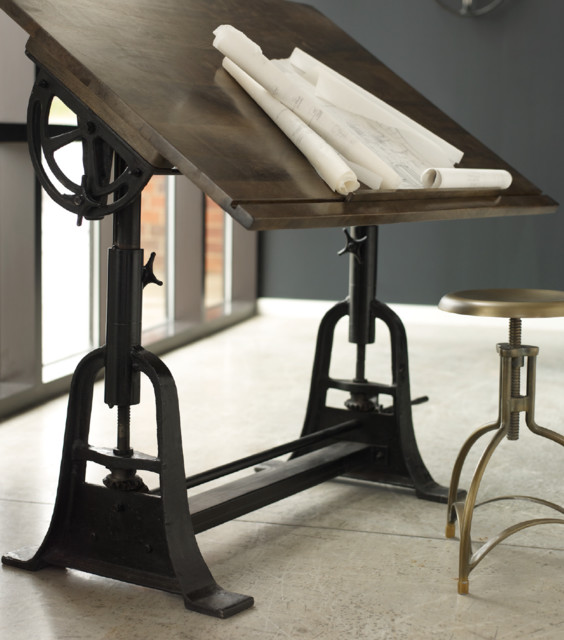 French Architect Drafting Table traditional-drafting-tables