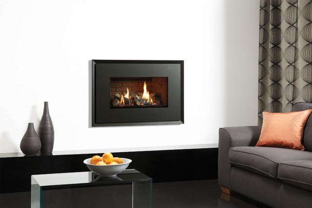 Gazco Riva2 670 Evoke Gas Fire contemporary-fireplaces