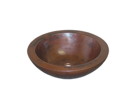Native Trails - Laguna Antique Copper Sink by Native Trails - A flawless work of art. Laguna's perfectly formed, halved copper sphere vessel could be the only decor you need in your bathroom. Choose from the striking patina of Antique copper or the luminous hand-dipped Brushed Nickel finishes.