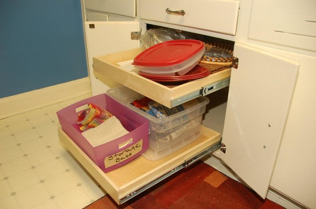 Slide Out Kitchen Cabinet Organizers