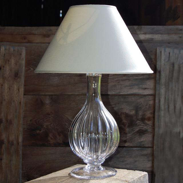 Simon Pearce Corinth Wide Lamp table-lamps