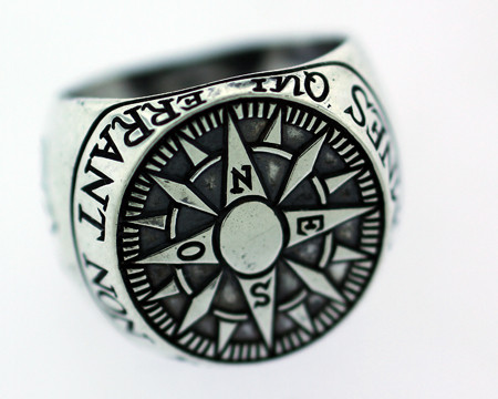 Compass Signet Ring eclectic