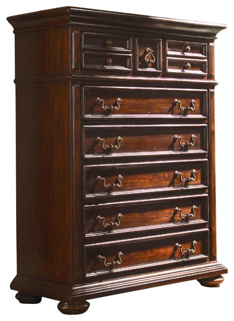 Lexington Fieldale Lodge Cypress Chest rustic-dressers