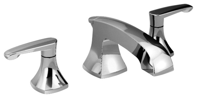 Copeland Widespread Bathroom Faucet in Polished Chrome contemporary-bathroom-faucets
