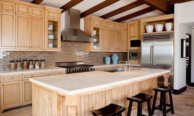 Laguna Beach Cottage traditional-kitchen