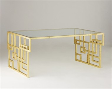 Anders Table by Jan Showers contemporary-desks