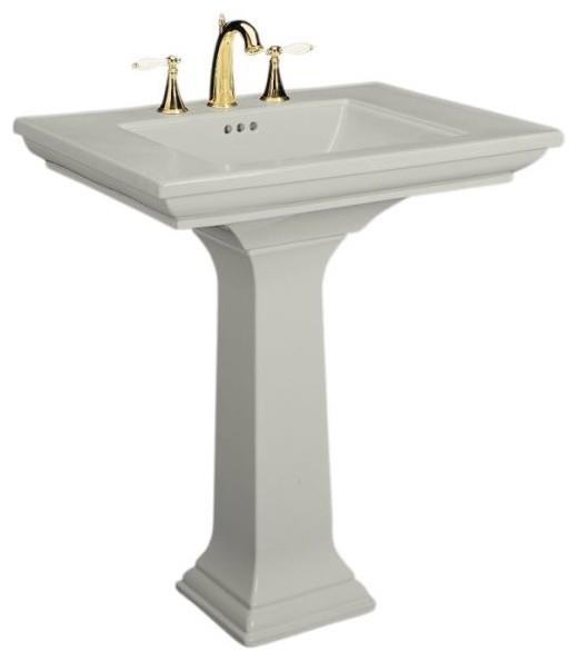 Kohler Memoirs Pedestal Sink : KOHLER K-2268-8-95 Memoirs Pedestal Lavatory with 8