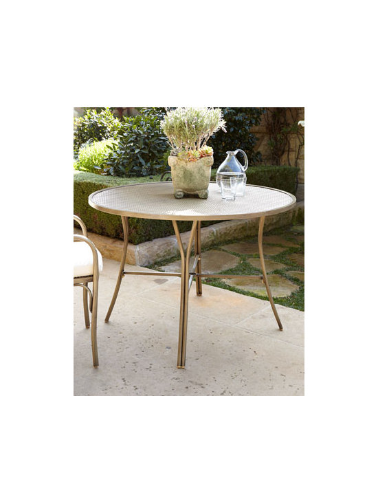"Parker James ""Bordeaux"" Outdoor Bistro Table, 30""Dia."