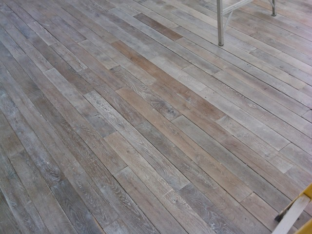 Antique Reclaimed French White Oak flooring - Eclectic - Hardwood Flooring - boston - by Paris ...
