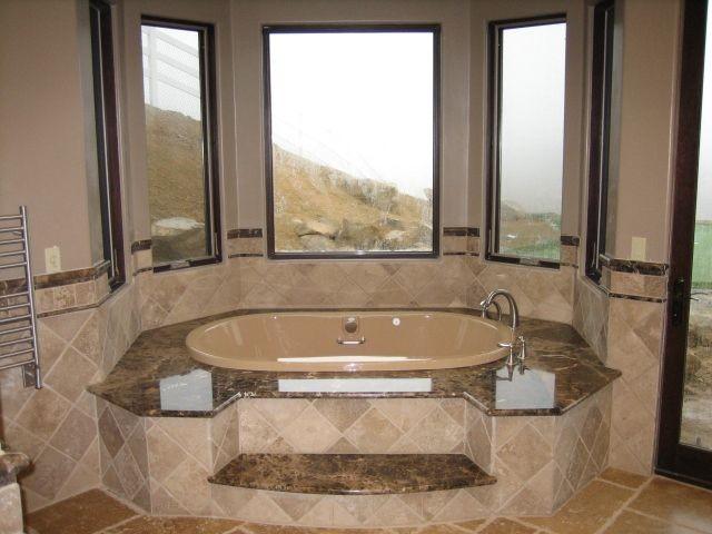 Tuscan (5,700 sq feet), Bell Canyon mediterranean-bathroom