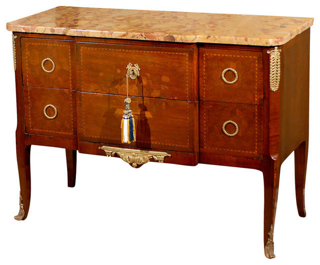 Consigned 19th Century French Commode traditional-accent-chests-and-cabinets