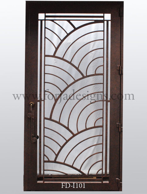 Contemporary Steel Door Design on cabinet door construction