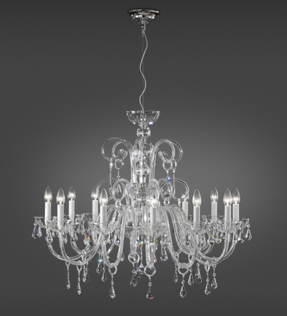 "Italamp Cult_Edition ""Gold Chandelier"" by Topdomus traditional-chandeliers"