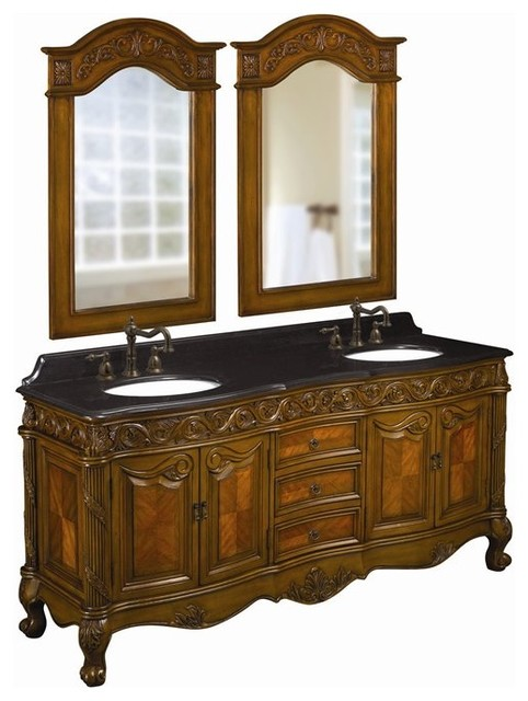 Belle Foret Model BF80056R Double Vanity  bathroom vanities and sink consoles