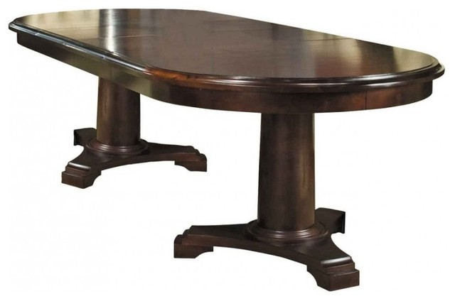 Benny 76 extension dining table traditional dining for Traditional dining table for 8