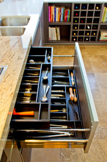 Organize Your Kitchen Drawers Organize your kitchen drawers once and for all home tips for women home improvement tips might include adding interior drawers to organize your kitchen drawers workwithnaturefo
