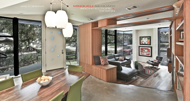 Annie Street Residence contemporary-living-room