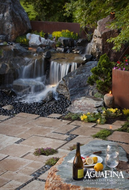 Pavers and Hardscape modern landscape
