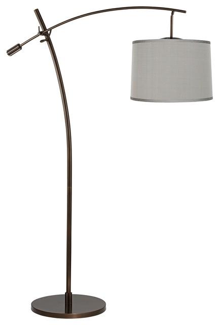 contemporary tara platinum gray dupioni balance arm arc. Black Bedroom Furniture Sets. Home Design Ideas