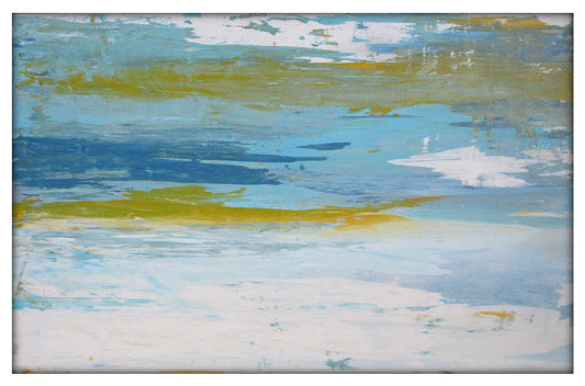 Abstract Seascape Original Painting on Canvas Contemporary/Modern Painting 24x36 contemporary-originals-and-limited-editions