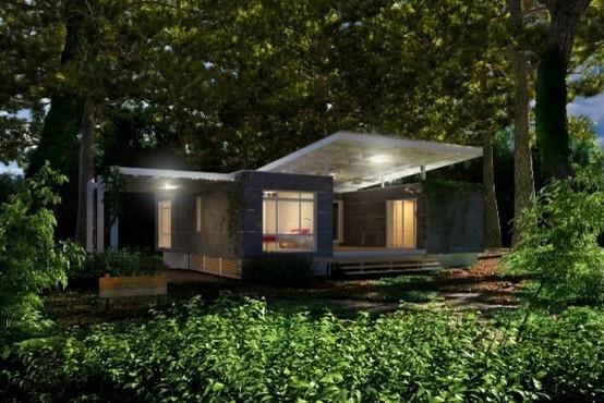 Madrid - Modular Home - Forest View - Modern - brisbane ...