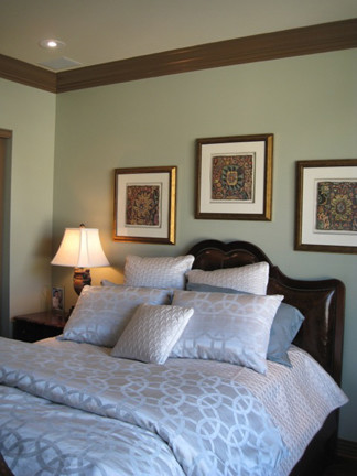 Downtown Condo - Interior Painting traditional-bedroom