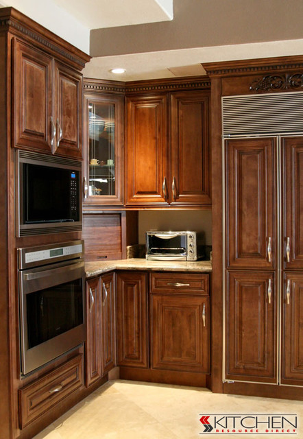 RTA Kitchen Cabinets  Bristol Door Style  Traditional  Kitchen