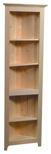 Pine Corner Shelf traditional-storage-cabinets