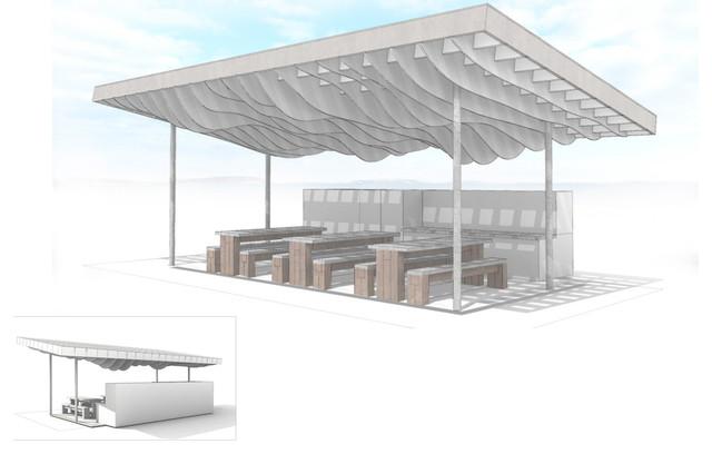 Modern Outdoor Classroom ~ Vernon elementary sustainable outdoor classroom