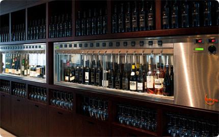 By The Glass Wine Dispenser Contemporary Wine Racks