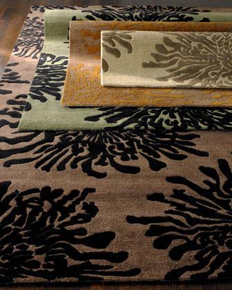 Mum Falls Rug, 8' x 11' traditional-rugs