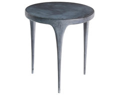 Design Cast Aluminum Side Table by John Reeves modern-outdoor-tables