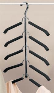 Friction Multi-Blouse Hanger hooks-and-hangers