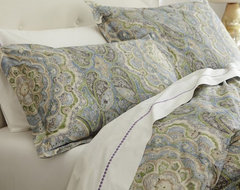 Adriana Organic Duvet Cover contemporary-duvet-covers