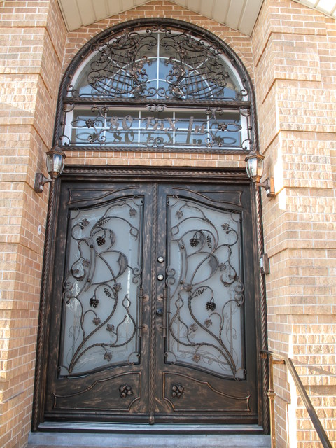 Wrought iron doors main door new york by igor for New main door