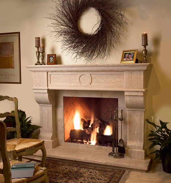 Showroom Stone Fireplace Surrounds Traditional Indoor Fireplaces Phoenix By Facings Of
