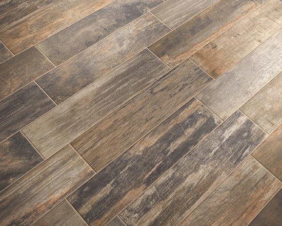 Wood-Look Porcelain Tiles -